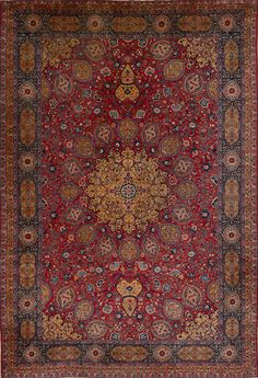 Matt Camron Rugs & Tapestries Antique Persian Tabriz Rug