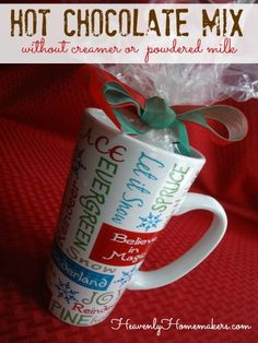 Homemade Hot Chocolate Mix Without Creamer