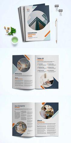 Company Profile Presentation Template InDesign INDD Company Profile Presentation, Company Profile Design Templates, Marvel Quotes, Business Planning, Presentation Templates, Design Elements, How To Plan, Elements Of Design, Shop Plans
