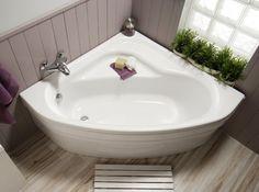 La baignoire d'angle, une solution pour conjuguer douche et baignoire ?