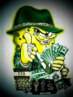 Gangster Spongebob   ... gangsta spongebob   picz ...