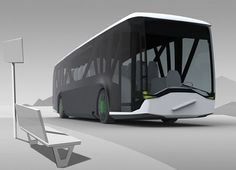 With the sole aim to ensure safety for children traveling to their school, a Swedish team of product designers has designed a Safety Bus concept based on detailed interviews of bus drivers, observa… Futuristic Technology, Futuristic Cars, Futuristic Design, Futuristic Vehicles, Transportation Technology, Future Transportation, Transport Technology, Futuristisches Design, Truck Design