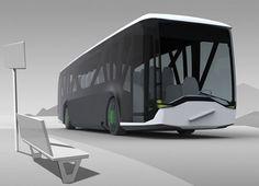 bus futuriste Future Transportation, Transportation Technology, Transport Technology, New Trucks, Futuristic Vehicles, Futuristic Technology, Futuristic Design, Futuristic City, Electric Cars