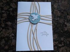Sconebeker Stempelscheune - Stampin up Set : Taufkarte, Swirly Bird,: - SU - Christening