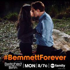 Bay & Emmett. <3 Switched At Birth. Season 3. #BemmettForever <3