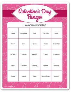 Valentine's game from Funsational