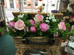 Mother's Day Flower Hamper, available in 2 sizes