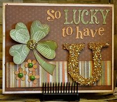 Cute St. Patrick's Day card!