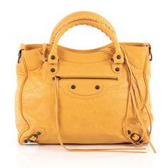 Yellow City Bag | Balenciaga | Catchys