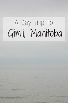 Gimli is a small beach town located along the west coastline of Lake Winnipeg in Manitoba, Canada, only 62 km north of Manitoba's capital city of Winnipeg hour driving time). Gimli was ori… Visit Canada, Canada Eh, Canada Trip, Lake Winnipeg, Camper, Canadian Travel, Travel Goals, Travel Tips, Photo Essay