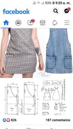 Sewing Patterns Free, Free Pattern, Couture, Dress Design Sketches, Designer Dresses, Denim, Fashion, Skirt Patterns Sewing, Gorgeous Dress