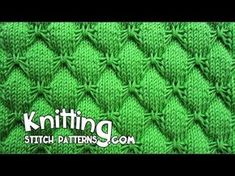 Learn how to make some knitted butterfly stitches. This is a great stitch for knitted baby projects. Watch this FREE video tutorial and get started with . Baby Knitting Patterns, Baby Sweater Patterns, Knitting Stiches, Knitting Videos, Easy Knitting, Crochet Stitches, Stitch Patterns, Crochet Mittens, Knitting Designs