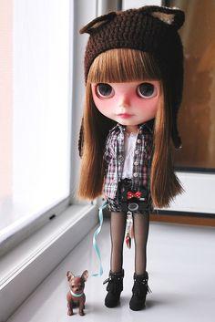 Blythe Doll....she looks like me when I was 14....Freedom Daisy Sunshine