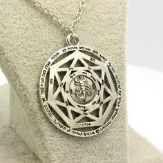 Winchester Devil Hollow Pendant Vintage Scorpion Chain Necklace (Free Shipping)
