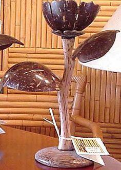 77 best Coconut S Creations images on Pinterest | Casquinha ... Flower Vase Made Of Coconut S on plumeria flower vase, candy cane flower vase, one flower vase, waffle cone flower vase, pumpkin flower vase, candy corn flower vase,