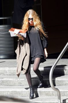 Mary Kate Olsen outfit