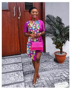 Ankara Short Gown Styles, Ankara Gowns, Short Gowns, African Print Fashion, African Fashion Dresses, African Prints, Ankara Fashion, African Attire, African Dress