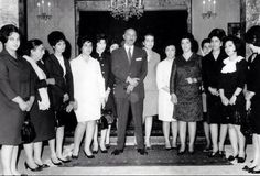 King Zaher and his family