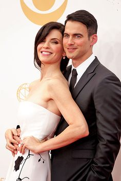 julianna Margulies and Keith Lieberthal  - Emmy's 2013