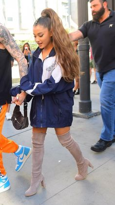 Ariana Grande Fotos, Ariana Grande Outfits, Girly Outfits, Cute Outfits, Dangerous Woman, Celebs, Celebrities, Celebrity Style, Street Style
