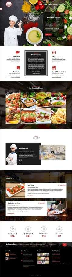 Chef is a wonderful responsive #WordPress theme for #cafe, restaurant and #catering service website with 6 unique homepage layouts download now➩ https://themeforest.net/item/chef-restaurant-catering-wordpress-theme/17692233?ref=Datasata