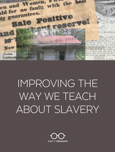 American Slavery is a difficult topic to teach, and for decades, we haven't been doing a very good job of teaching it. Learn how the Teaching Hard History framework aims to change that. Education Issues, Gifted Education, Character Education, Education Reform, Special Education, Social Studies Classroom, Teaching Social Studies, Teaching History, History Classroom