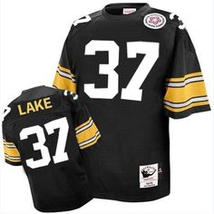 860d3bd37a7 Donnie Shell Men's Authentic Black Jersey: Mitchell and Ness NFL Pittsburgh  Steelers Home Throwback nike Pittsburgh Steelers,nike Pittsburgh Steelers