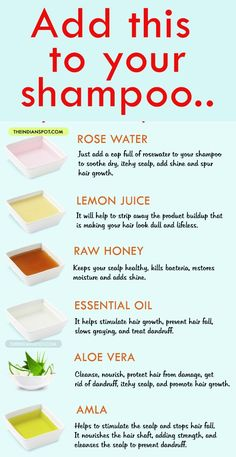 diy beauty tip for healthy happy hair