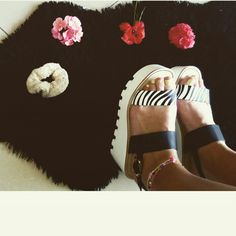 My new zebra shoes ...^^