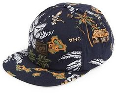 Obey 'Tropics' Snapback Hat 밀리터리한 느낌도 나네요.