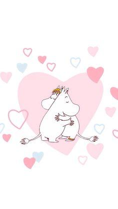Moomin Wallpaper, Kawaii Wallpaper, Pastel Wallpaper, Les Moomins, Moomin Valley, Abstract Iphone Wallpaper, Tove Jansson, Cute Characters, Cute Cartoon