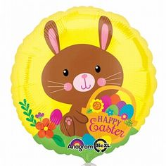 Happy Easter Chocolate Bunny Foil Balloon - Easter Party ideas, tableware & decorations for spring, bunny & chick themed Easter party Chocolate Easter Bunny, Cute Easter Bunny, Happy Easter, Easter 2020, Easter Traditions, Easter Party, Foil Balloons, Party Packs, Party Accessories