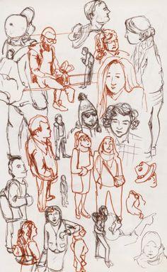 Urban Sketching: Cityfolk - Urban sketching 2 - Sketchbook Skool: Boot Kamp