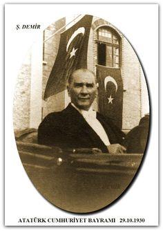 ATATÜRK CUMHURİYET BAYRAMI   29.10.1930