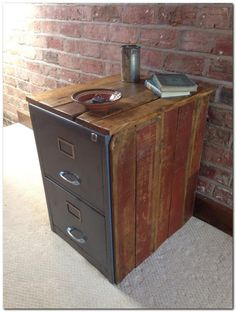 14 best filing cabinet makeover images metal furniture filing rh pinterest com