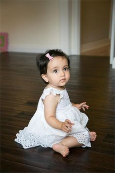 wooden floor and gorgeous 1 year old family photography in Cambridge