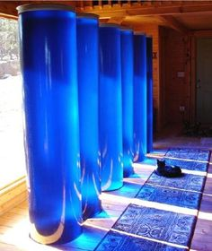 Water Tanks as Passive Home Solar Heat Storage