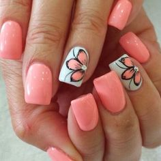 Summer is finally here! It's time to warm up from the winter and spring… - #nailartgalleries #nail #art #galleries