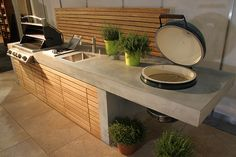 Backyard Bbq Kitchen Outdoor Cooking 50 Ideas For 2019 Rustic Outdoor Kitchens, Diy Outdoor Kitchen, Backyard Kitchen, Summer Kitchen, Backyard Bbq, Kitchen On A Budget, Backyard Landscaping, Kitchen Ideas, Kitchen Designs