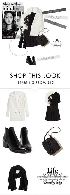 """""""No 306:Blind Date"""" by lovepastel ❤ liked on Polyvore featuring Ganni, Victoria, Victoria Beckham, Evelyn K, women's clothing, women, female, woman, misses, juniors and blinddate"""