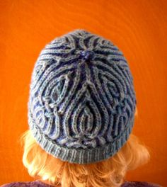 Crossing Over by Nancy Marchant, knitted by SkyeCraft | malabrigo Worsted in Turquoise