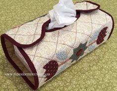 Funda para caja de pañuelos + patrón
