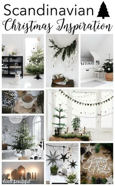 If you know me, you know that I just love the Scandinavian home decor style. Bright and clean, modern and simplistic, cozy and stylish, Scandi. modern home decor Scandinavian Christmas Inspiration - Dwell Beautiful Natural Christmas, Noel Christmas, Christmas Crafts, Christmas Tables, Beautiful Christmas, Hygge Christmas, Coastal Christmas, Beyonce Christmas, Green Christmas