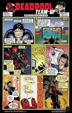 Deadpool og Charlie Sheen Team-up!