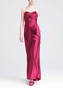 Bridesmaids gown on pinterest trumpet gown davids for David s bridal clearance wedding dresses