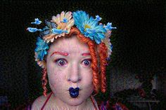 blue birds blue lips demonic