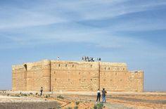 Castelo qasar jordania