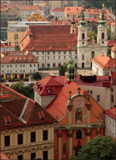 OLD GRAZ    AUSTRIA. My husbands hometown |Pinned from PinTo for iPad|