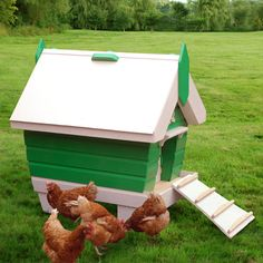 Beachhutchy 2-5 Chicken Coop Plans (pdf) Mm/meters Version