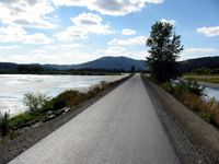 Trail of the Coeur d' Alenes- 71 mile bike path in northern Idaho  I can't wait to do this as a family bike/camping trip.